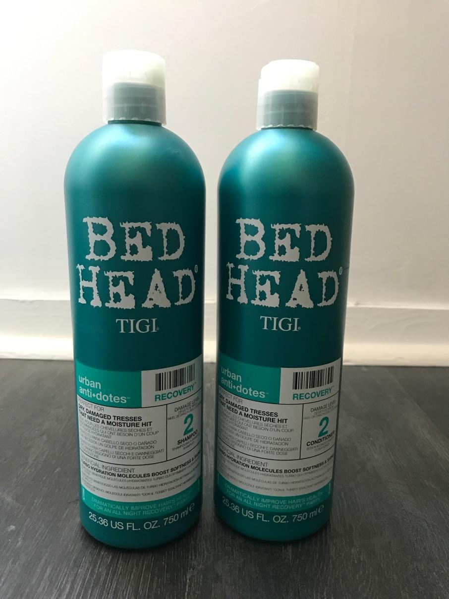 Shampoing et après shampoing Bed Head de Tigi level 2