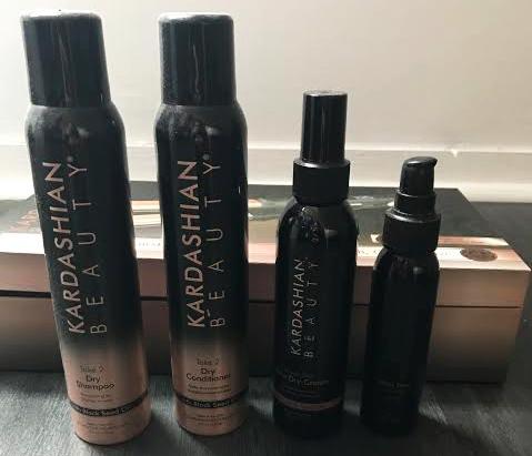 Produits capillaire de la gamme Kardashian Beauty